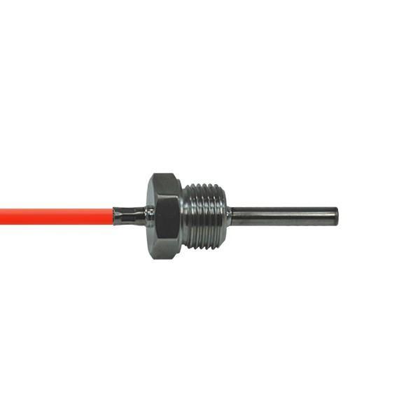 """4x40mm Einschraubfühler G1/4"""" bis 200°C - Leitungslänge und Sensor wählbar"""