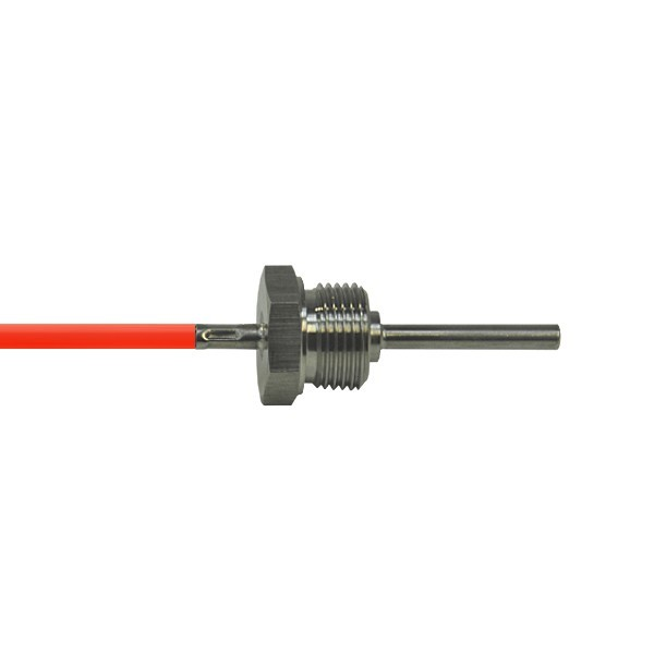 """6x50mm Einschraubfühler G1/2"""" bis 200°C - Leitungslänge und Sensor wählbar"""