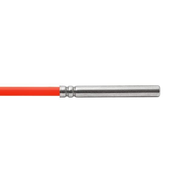 6x50mm Kabelfühler mit Silikon bis 200°C Leitungslänge und Sensor wählbar
