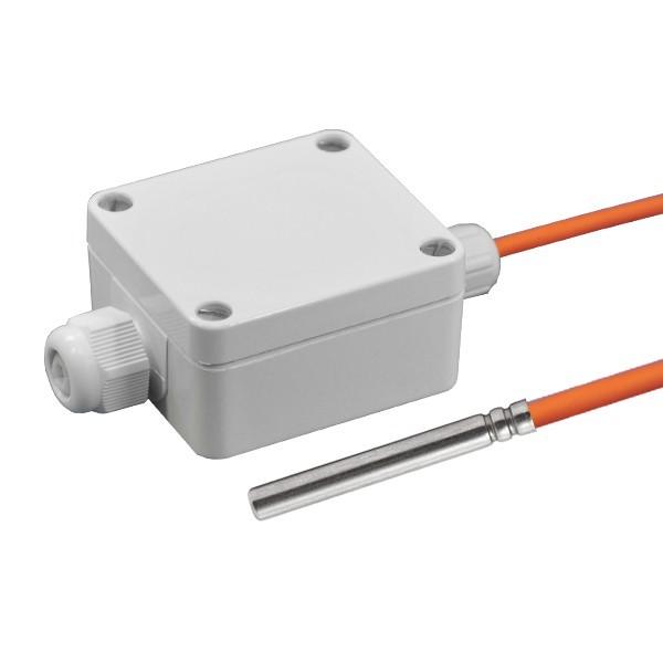 Kabelfühler aktiv mit Messumformer, 0-10V und 4-20mA Ausgang, Leitungslänge wählbar