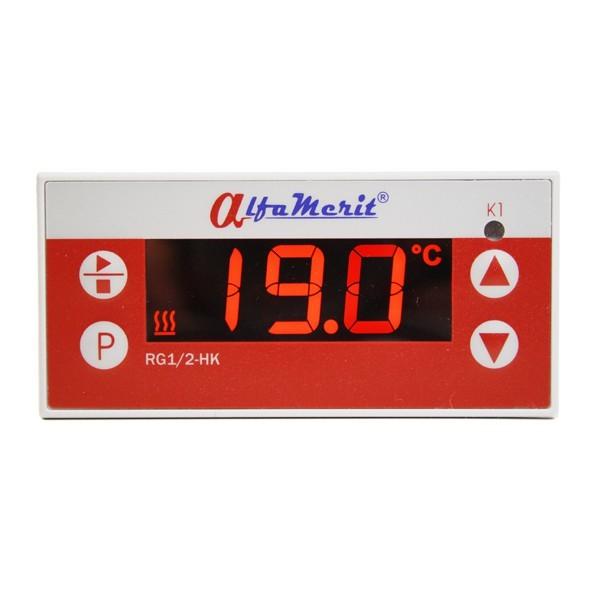 Digital Temperatur Regler, KTY, PT100 & PT1000, Relais, 230V oder 24V