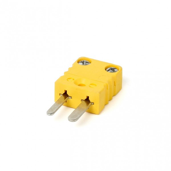 Miniaturstecker für Thermoelemente Typ K und Typ J