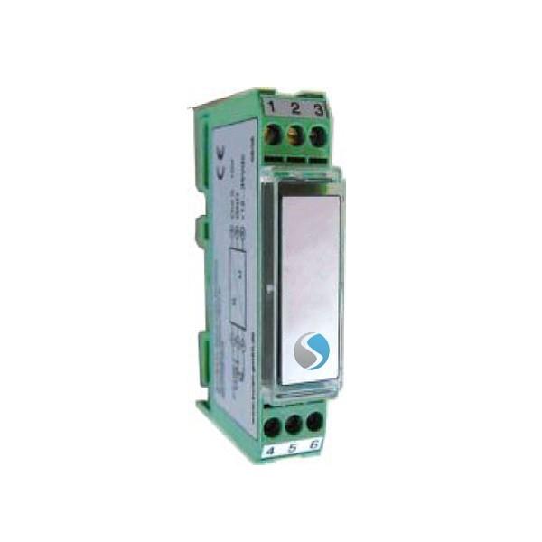 Analoger Temperatur - Messumformer 0 -10 V/4-20mA für Norm - Tragschiene