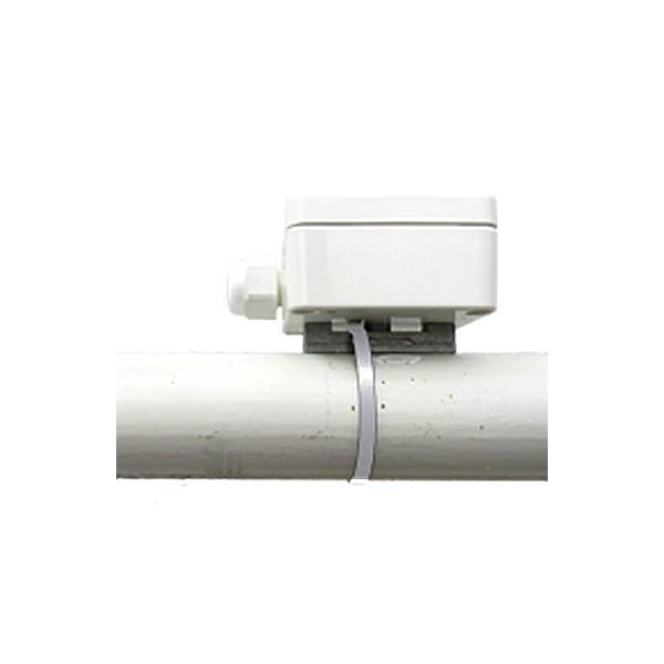 Anlegefühler im Gerhäuse aktiv mit Messumformer 0 - 10 V und 4 - 20 mA Ausgang