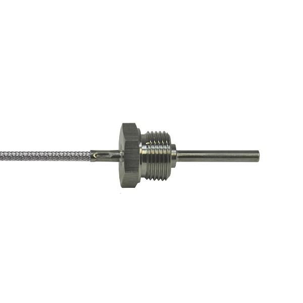 """6x50mm Einschraubfühler G1/2"""" bis 400°C - Leitungslänge und Sensor wählbar"""