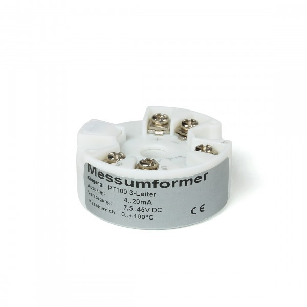 Temperaturkopftransmitter für Form B Anschlusskopf