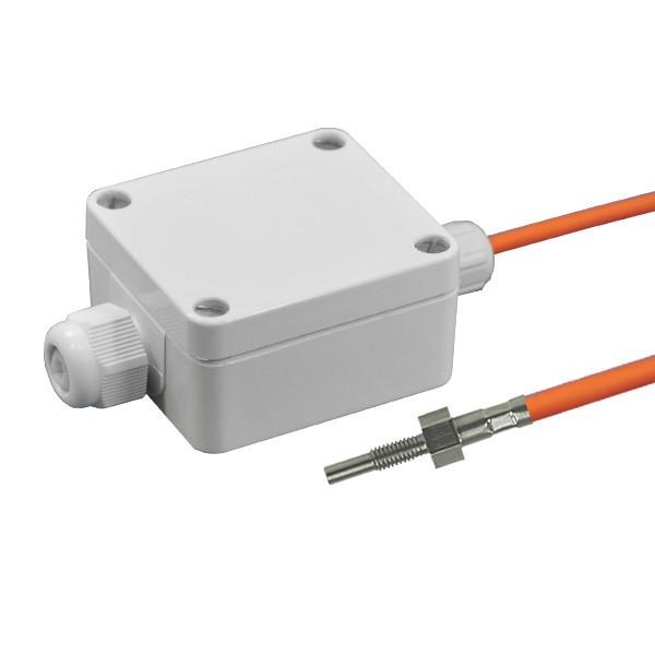 Einschraubfühler M4 aktiv mit Messumformer, 0-10V und 4-20mA Ausgang, Leitungslänge wählbar
